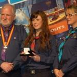 Lorna Campion graduates in Scouting Ireland