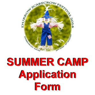 Summer Camp Application Form