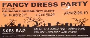 Halloween Fancy Dress Party – Friday 31st October 2014 @ Bobs Bar | Durrow | Laois | Ireland