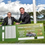 Launch of FAI National Draw 2014 with Ronnie Whelan