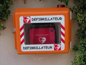 AED-defibrillator