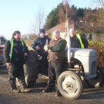 New Years Day 2017 Walk and Vintage Run in Ballycolla