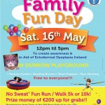 No Sweat! Family Fun Day – May 16th 2015