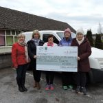 Women's Mini Marathon Group presents cheque to Meals on Wheels