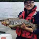 Shane Lawlor lands a MASSIVE Trout
