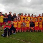 Harps Camogie win the 2017 Shield