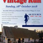Coolrain Vintage Run – October 28th 2018 🗓 🗺