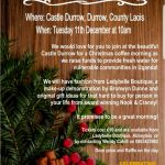 Christmas Coffee Morning at Castledurrow – December 11th 2018 🗓