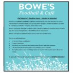 Chef Required at Bowes Foodhall & Café – June 2019