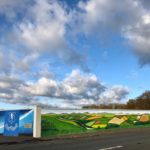 Cork Road Mural by Marie Moylan nearing Completion