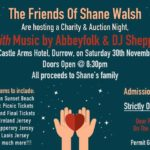 Friends of Shane Walsh Charity Auction Night – November 30th 2019 🗓